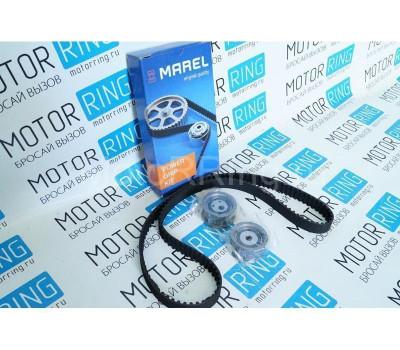 Комплект ремня ГРМ Marel Magnum с металлическим роликом на 16кл ВАЗ 2110-2112, 2114 Супер-Авто