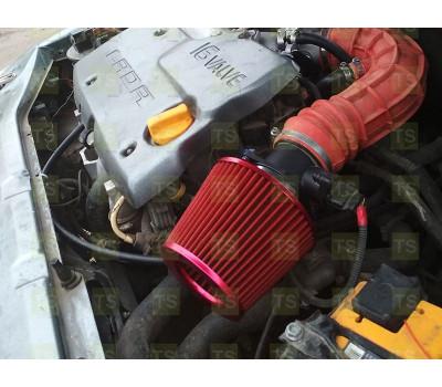 Воздушный фильтр нулевого сопротивления PROSPORT, инжекторный (красный, конус) для ВАЗ