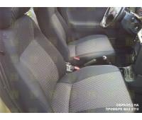 Обивка сидений (не чехлы) черная Ультра на ВАЗ 2107