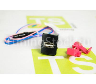 USB-зарядник Штат 1.2 вместо заглушки кнопки на Приора, Калина 2, Гранта, Гранта FL