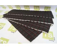 Ткань Квадрат для перетяжки обивок дверей 66х24 см 4 шт