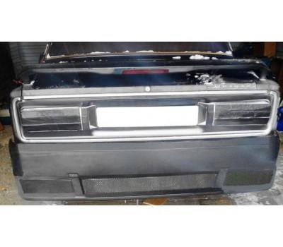Задний бампер (неокрашенный) с сеткой на ВАЗ 2105, 2106, 2107