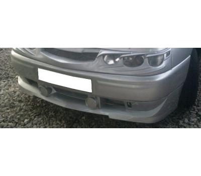 Широкая накладка переднего бампера на ВАЗ 2110-2112