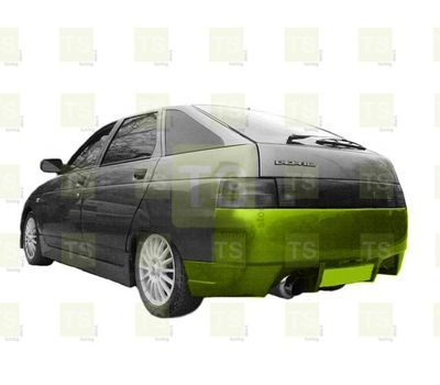 Бампер задний RS на ВАЗ 2112