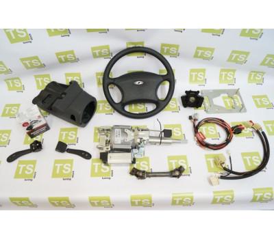 Электроусилитель руля (ЭУР) Калуга от Приоры с комплектующими для установки на инжекторные Нива 4х4